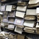 Im Teutsch-Haus wurde ein Archiv für die kirchlichen Dokumente eingerichtet.