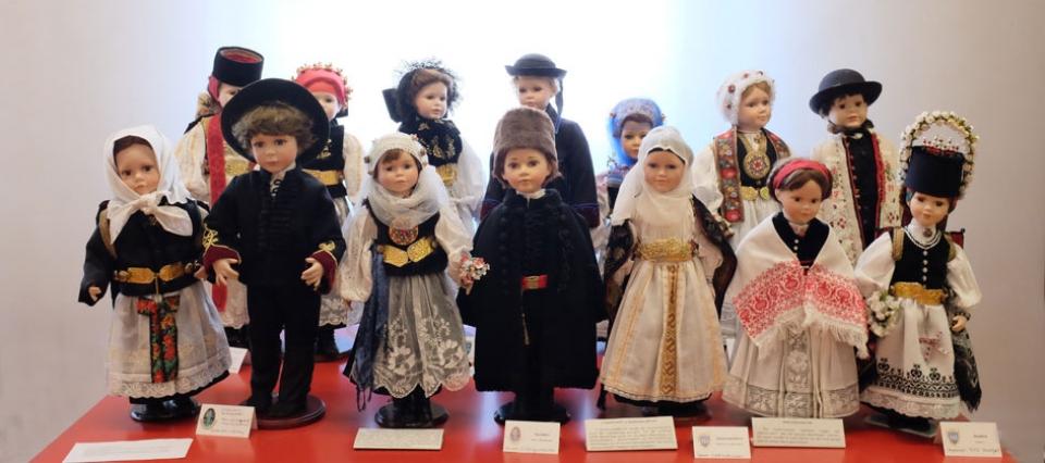 Trachten Sammlung im Museum in der Teutsch Haus