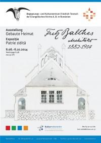 Plakat Fritz Balthes Final