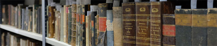 Colectii in biblioteca casei Teutsch