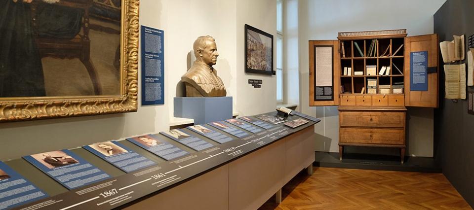 Landeskirchliche Museum Teutsch <b>Haus</b>